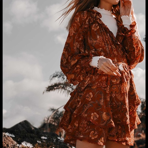 Spell & The Gypsy Collective Dresses & Skirts - 🌾Spell Aurora mini Playdress small NEW 🧡